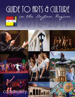 2016-2017 Guide to Arts and Culture
