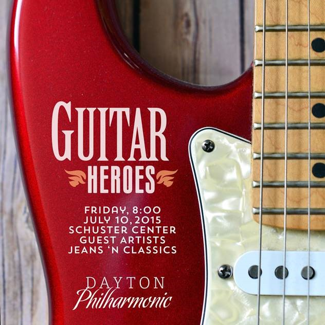 Guitar Heroes Dayton Philharmonic Orchestra