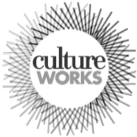 Culture Works black and white logo