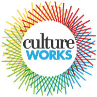 Culture Works full color logo on white background